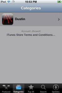 App Store Category List